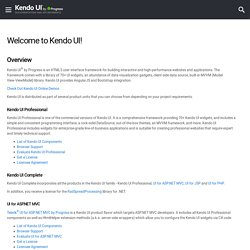 Telerik Kendo UI by Progress