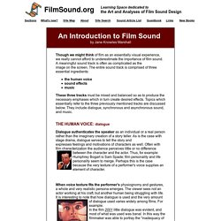 Introduction to Film Sound