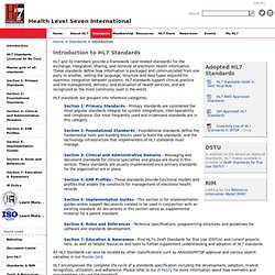 Introduction to HL7 Standards