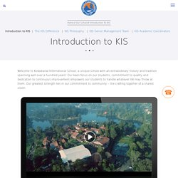 Introduction to KIS