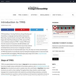 Introduction to TPRS
