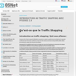 Introduction au Traffic Shapping avec pfSense 2.0