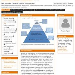 Introduction - Les données de la recherche - FORMADOCT at Université européenne de Bretagne