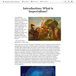 Introduction: What is Imperialism?