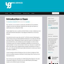 Introduction à Xsan