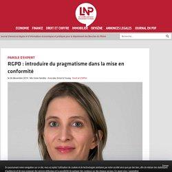 RGPD : introduire du pragmatisme dans la mise en conformité