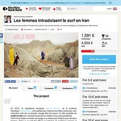 Les femmes introduisent le surf en Iran présenté par marion poizeau