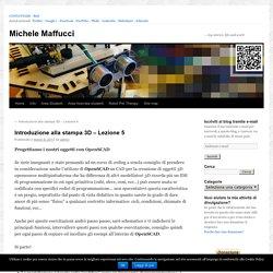 Introduzione alla stampa 3D – Lezione 5