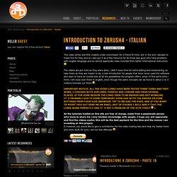 introduzione zbrush in italiano