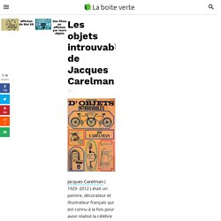 Les objets introuvables de Jacques Carelman