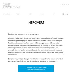 INTROVERT - Quiet Revolution