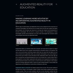 Know How Augmented Reality Important in Education