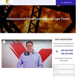 Intumescent Paint Contractors Cape Town