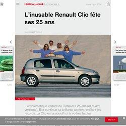 L'inusable Renault Clio fête ses 25ans - Edition du soir Ouest France - 06/06/2016