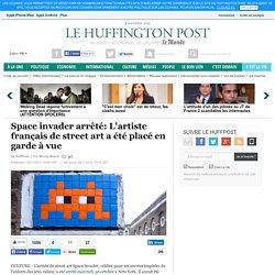 Space invader arrêté: L'artiste français de street art a été placé en garde à vue