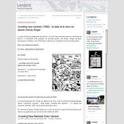 Invading new markets (1998) : la date et le sens du dessin d'Andy Singer