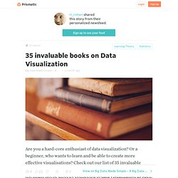 35 invaluable books on Data Visualization