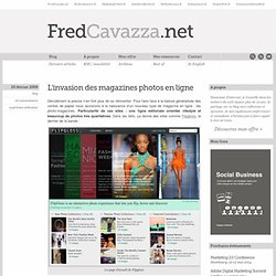 L'invasion des magazines photos en ligne > FredCavazza.net