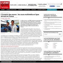 L'invasion des moocs : les cours multimédia en ligne arrivent en France