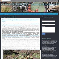 Legalmente no sé si podría realizarse, ya que esta especie se encuentra en el Decreto que regula el catálogo de especies exóticas e invasoras de España, tanto en el texto publicado el diciembre pasado (