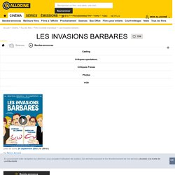 Les Invasions barbares - film 2002