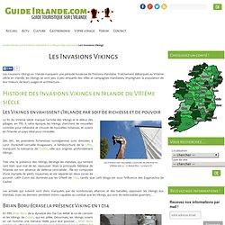 Invasions Vikings en Irlande - VIIIème siècle