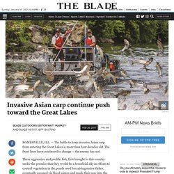 TOLEDO BLADE 26/02/17 Invasive Asian carp continue push toward the Great Lakes