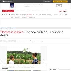 LE TELEGRAMME 21/07/16 Plantes invasives. Une ado brûlée au deuxième degré (berce du caucase)