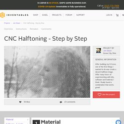 CNC Halftoning - Step by Step