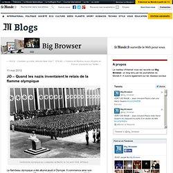 JO – Quand les nazis inventaient le relais de la flamme olympique