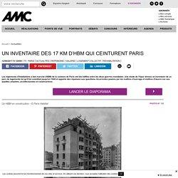 Un inventaire des 17 km d'HBM qui ceinturent Paris - 12/06/17