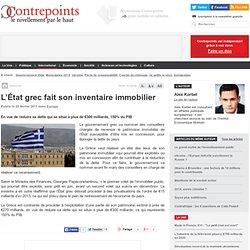 L'État grec fait son inventaire immobilier