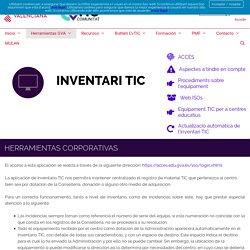 Inventario – Comunitat CvTIC