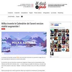 Milka invente le calendrier de l'avent version réalité augmentée !