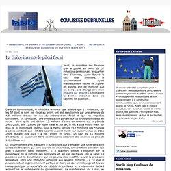 La Grèce invente le pilori fiscal