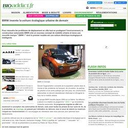 BMW invente la voiture écologique urbaine de demain