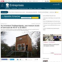 Ils inventent l'Indépendante, une maison écolo et low-cost de 40 m² à 35 000 €
