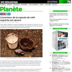 L'inventeur de la capsule de café regrette son œuvre