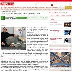 L'inventeur du trottoir électrique part aux USA - Toulouse