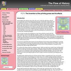 FC74: The invention of the printing press and its effects