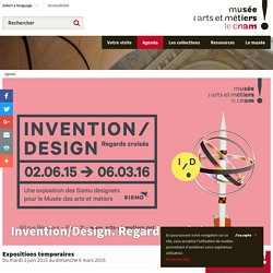 Invention/Design. Regards croisés