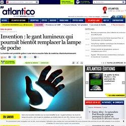 Invention : le gant lumineux qui pourrait bientôt remplacer la lampe de poche
