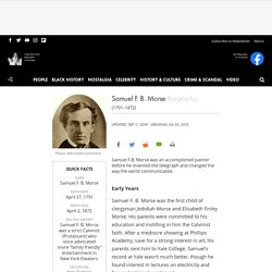 Samuel F. B. Morse - Invention, Telegraph & Facts - Biography