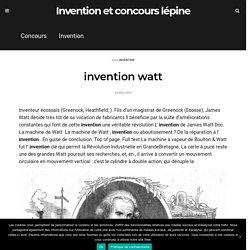 invention watt - Invention et concours lépine
