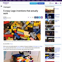 5 crazy Lego inventions that actually work | Unplugged