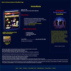 Science Wiz : Inventions Kit to build a motor, telegrapsh, radio, and generator includes a Book, Internet videos, animations and APPS