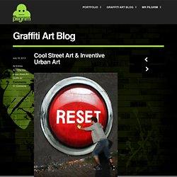 ol Street Art & Inventive Urban Art - Mr Pilgrim Graffiti Artist