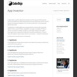 App Inventor – CoderDojo Szentendre