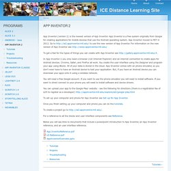 ICE Distance Learning Site