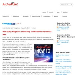 ArcherPoint Offers the Best Inventory Management Software